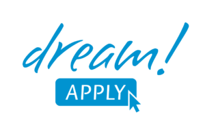 DreamApply logo. Best application management system in the world